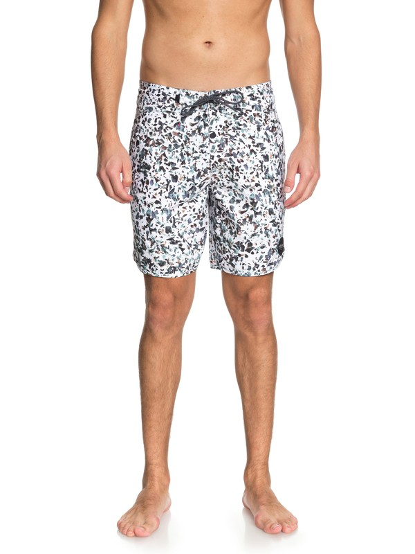 "0 Variable 18"" Beach Shorts White EQYBS04035 Quiksilver"