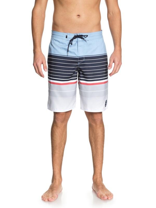 """0 Swell Vision 20"""" Beach Shorts Blue EQYBS04037 Quiksilver"""