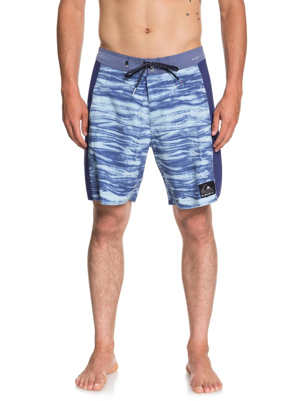 "0 Highline Omni Arch 18"" Boardshorts Blue EQYBS04042 Quiksilver"