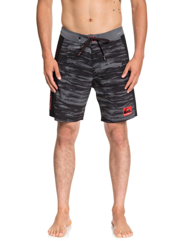 "0 Highline Omni Arch 18"" Boardshorts Black EQYBS04042 Quiksilver"