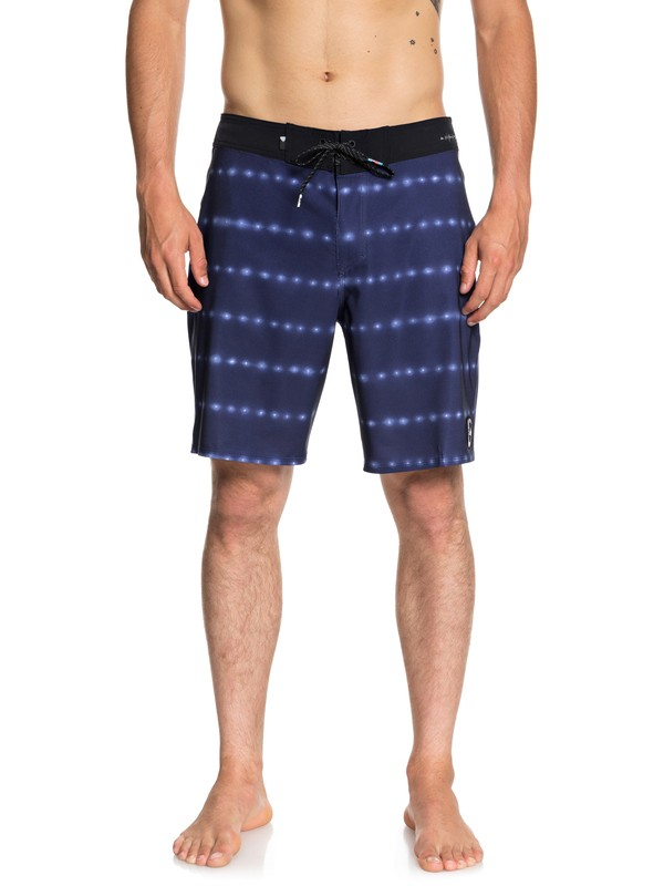 "0 Boardshorts Highline Variable 19"" Azul EQYBS04048 Quiksilver"