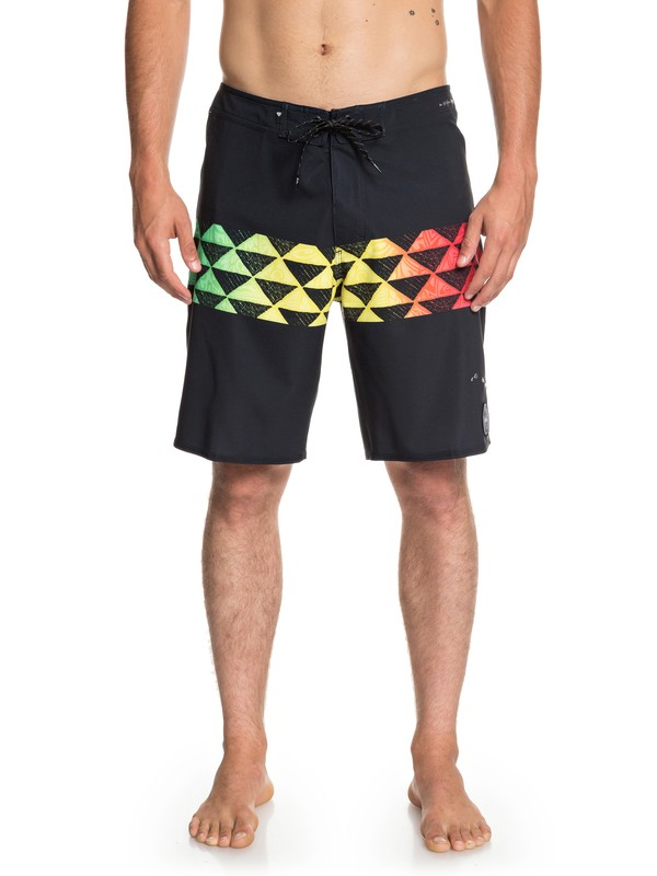 "0 Highline Hawaii Variable 19"" Boardshorts Black EQYBS04056 Quiksilver"