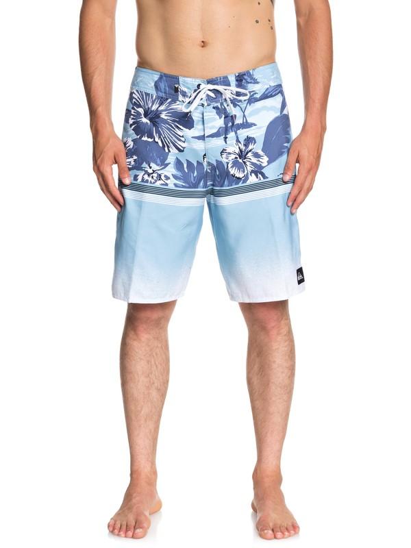 "0 Divide 20"" Boardshorts Blue EQYBS04060 Quiksilver"