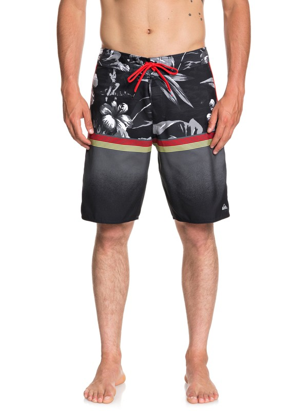 "0 Divide 20"" Boardshorts Black EQYBS04060 Quiksilver"