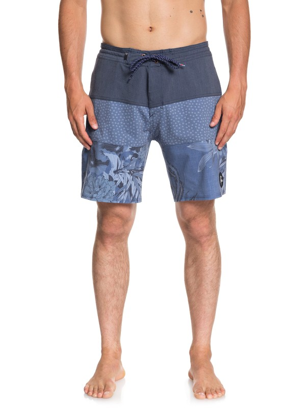 "0 Baja Variable 18"" Beachshorts Blue EQYBS04062 Quiksilver"