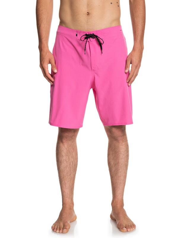 "0 Highline Kaimana 20"" Boardshorts Pink EQYBS04072 Quiksilver"