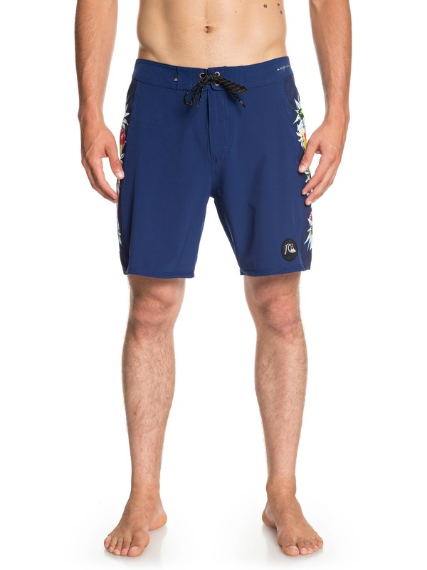 """0 Highline Arch 18"""" Boardshorts Blue EQYBS04077 Quiksilver"""