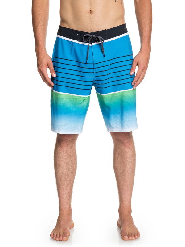"0 Highline Slab 20"" Boardshorts Blue EQYBS04080 Quiksilver"