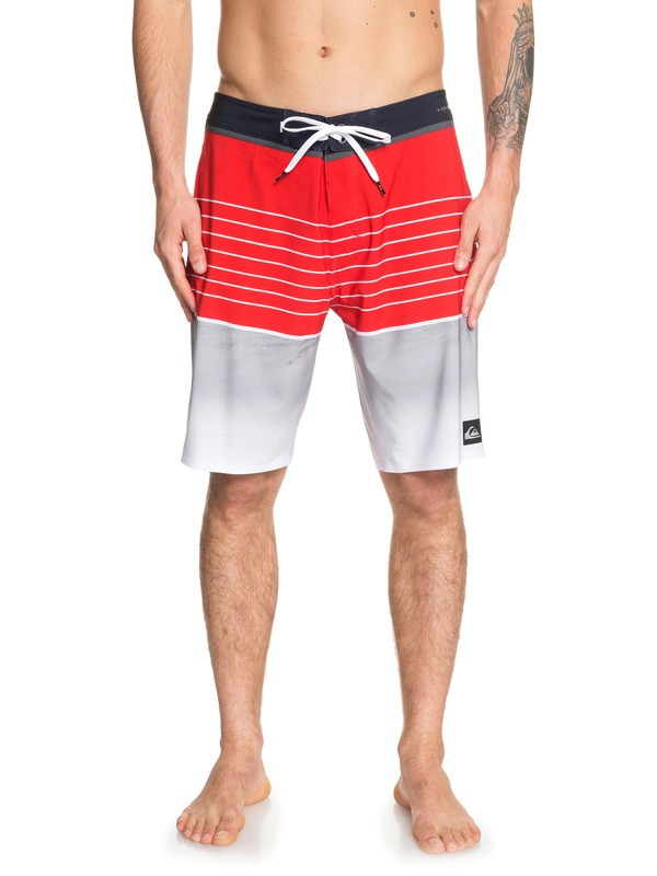 "0 Highline Slab 20"" Boardshorts Red EQYBS04080 Quiksilver"