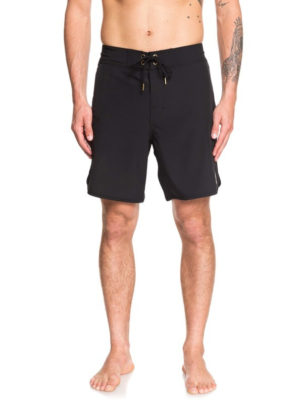 "0 Highline Scallop 18"" - Board Shorts Black EQYBS04081 Quiksilver"
