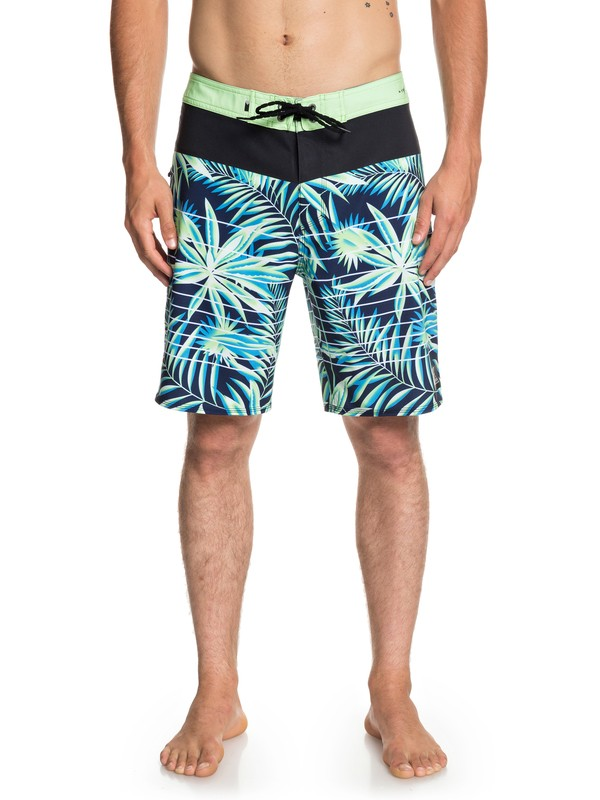 "0 Highline Drained Out 19"" - Board Shorts for Men Green EQYBS04082 Quiksilver"