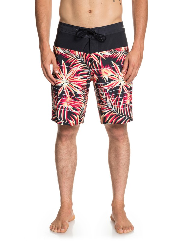 "0 Highline Drained Out 19"" - Boardshort pour Homme Noir EQYBS04082 Quiksilver"