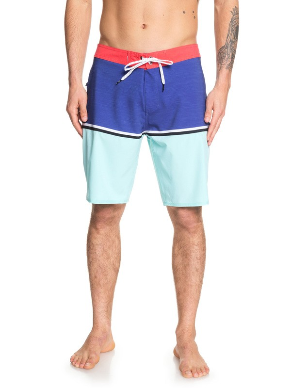"0 Highline Division 20"" Boardshorts Blue EQYBS04083 Quiksilver"