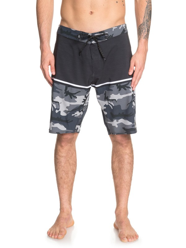 "0 Highline Division 20"" Boardshorts Black EQYBS04083 Quiksilver"