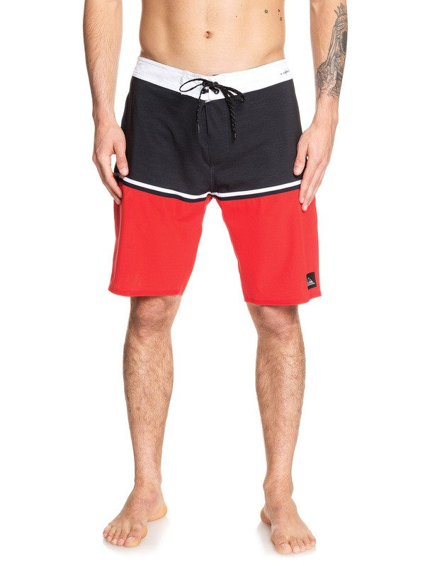 "0 Highline Division 20"" Boardshorts Red EQYBS04083 Quiksilver"