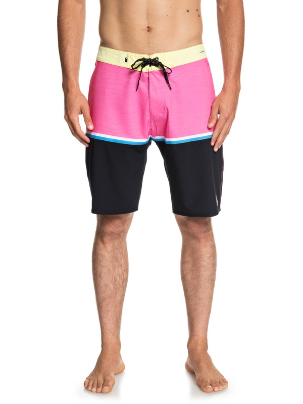 """0 Highline Division 20"""" Boardshorts Yellow EQYBS04083 Quiksilver"""