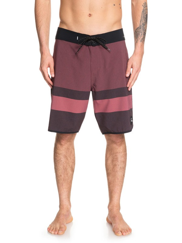 "0 Highline Tijuana 20"" Boardshorts Red EQYBS04084 Quiksilver"