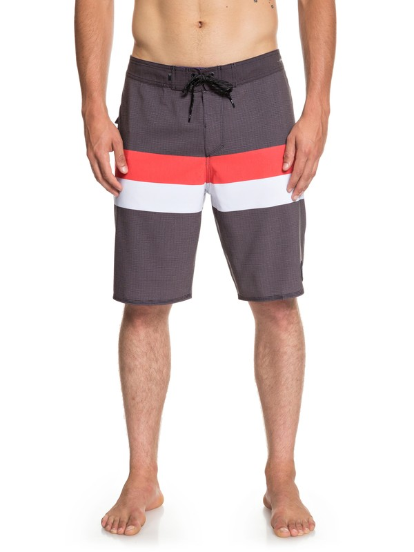 "0 Highline Seasons 20"" Boardshorts Black EQYBS04085 Quiksilver"