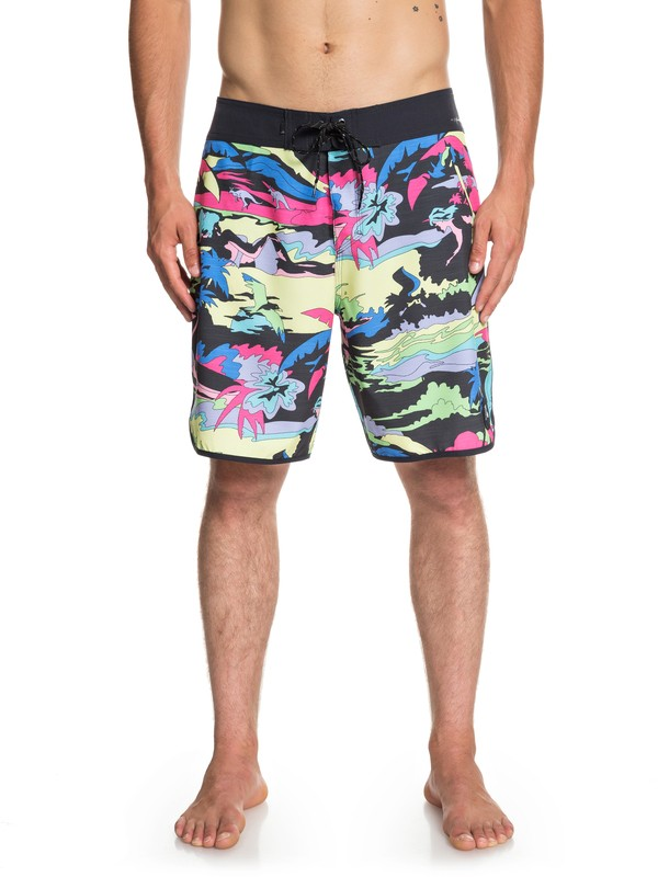 "0 Boardshorts Highline Feelin Fine 19"" Negro EQYBS04087 Quiksilver"