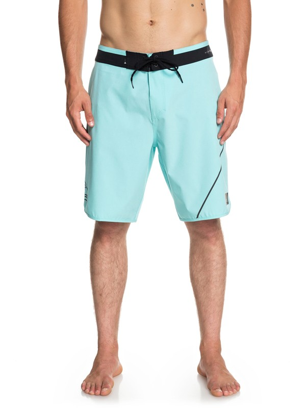 "0 Highline New Wave 20"" Boardshorts Blue EQYBS04088 Quiksilver"