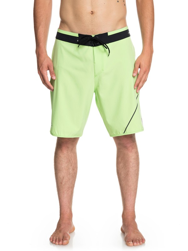 "0 Highline New Wave 20"" - Board Shorts Green EQYBS04088 Quiksilver"