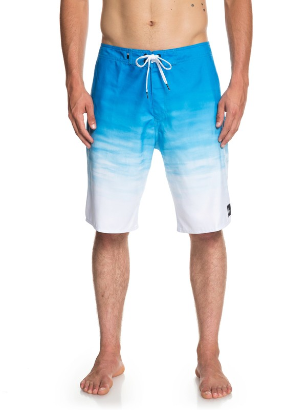 "0 Everyday Fade Reef 21"" Boardshorts Blue EQYBS04091 Quiksilver"