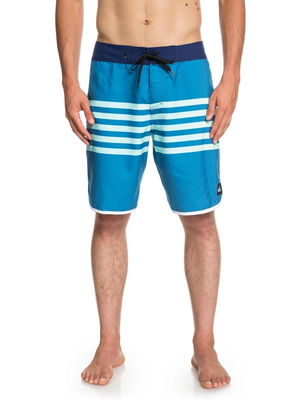 """0 Everyday Grass Roots 20"""" Boardshorts Blue EQYBS04096 Quiksilver"""