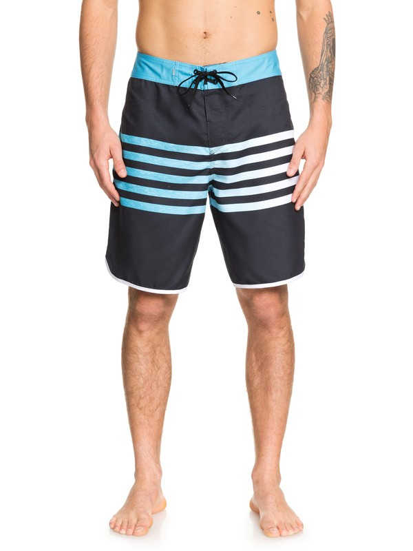 "0 Everyday Grass Roots 20"" Boardshorts Black EQYBS04096 Quiksilver"
