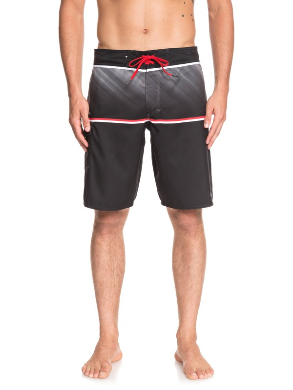 "0 Everyday Division 20"" - Board Shorts for Men Black EQYBS04097 Quiksilver"