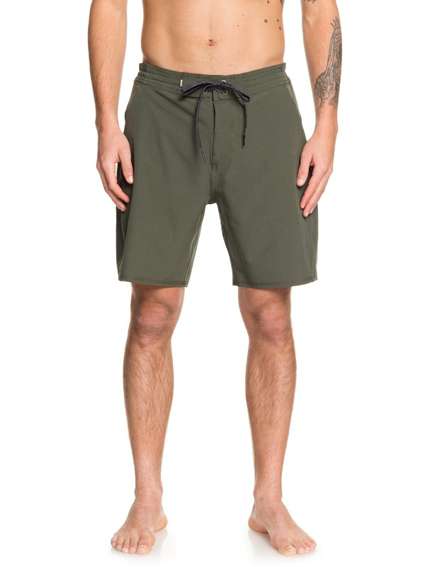 "0 Adapt 19"" Beachshorts Brown EQYBS04100 Quiksilver"