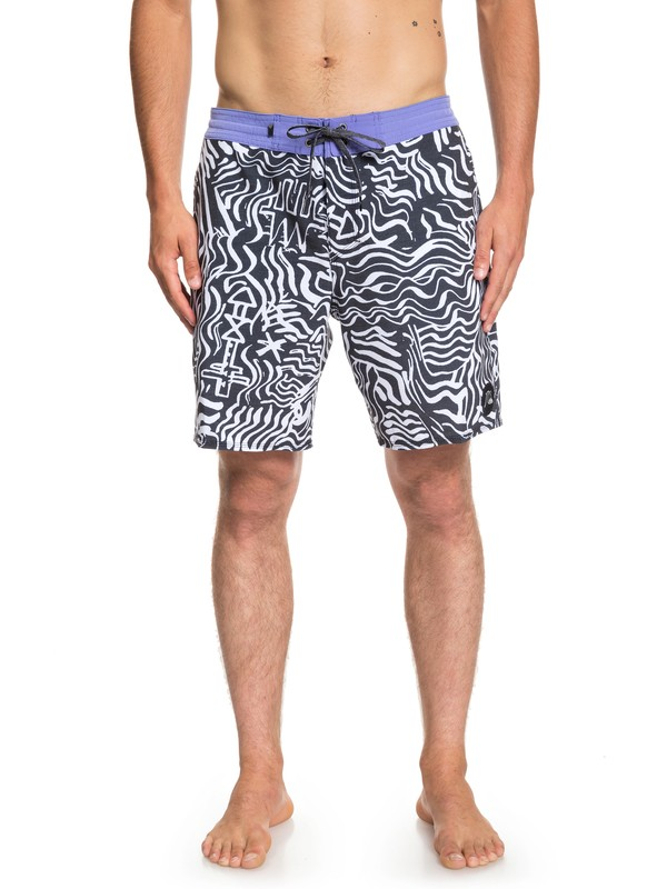 "0 Shorts de playa Secret Ingredient 18"" Blanco EQYBS04101 Quiksilver"