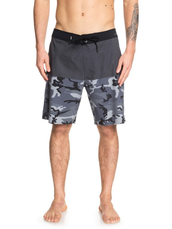 "0 Highline Division Pro 19"" Boardshorts Black EQYBS04106 Quiksilver"