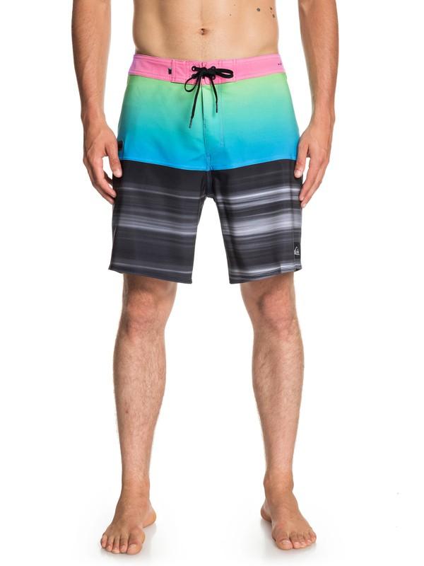 "0 Highline Hold Down 18"" - Boardshorts para Hombre Azul EQYBS04111 Quiksilver"