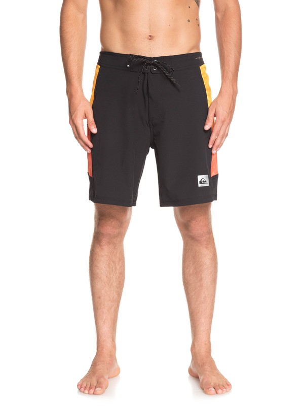 "0 Highline Fade Arch 18"" Boardshorts Black EQYBS04112 Quiksilver"