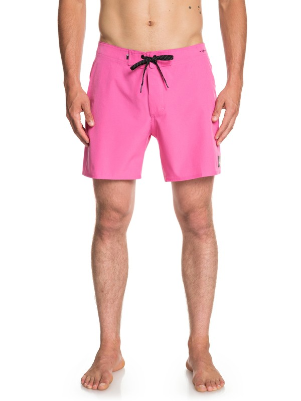 "0 Highline Kaimana 16"" - Board Shorts for Men Pink EQYBS04117 Quiksilver"