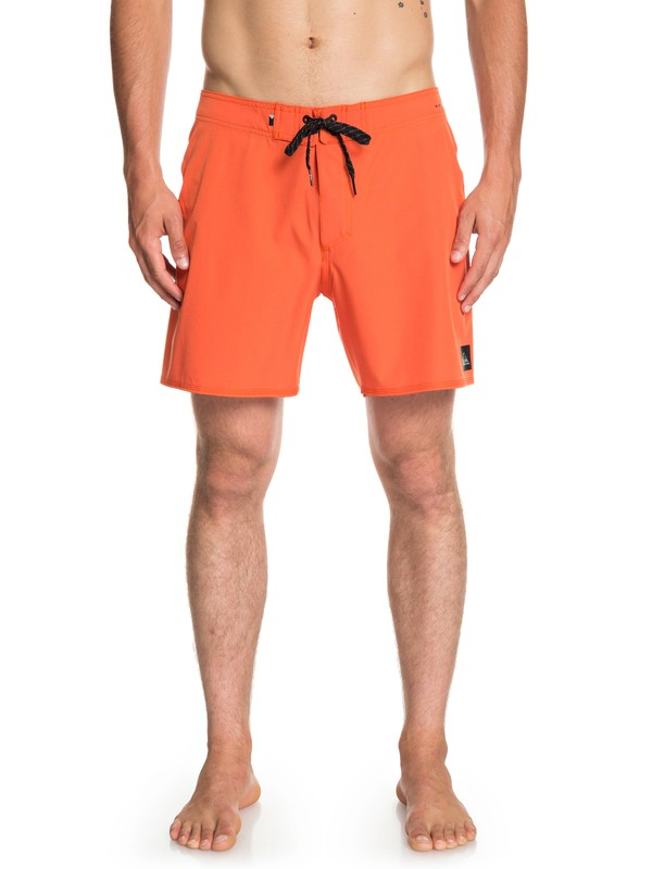 "0 Highline Kaimana 16"" - Board Shorts for Men Orange EQYBS04117 Quiksilver"