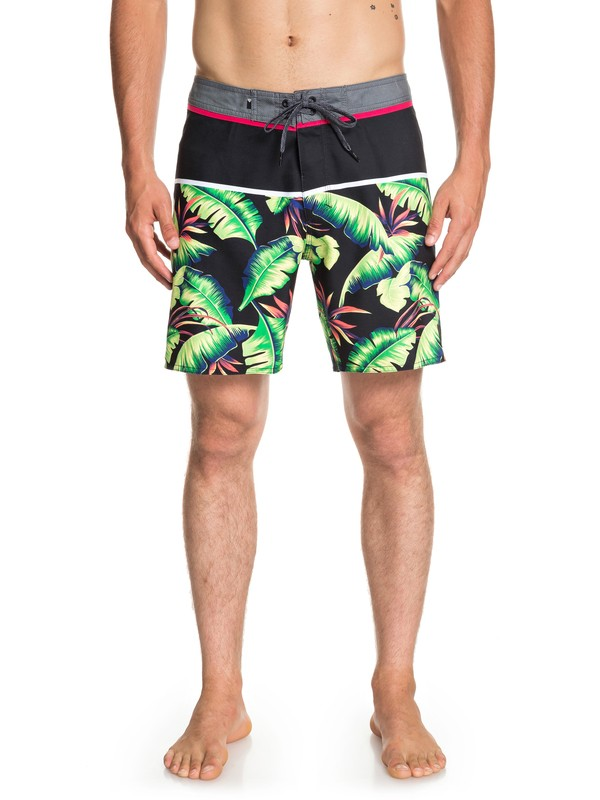 "0 Everyday Noosa 17"" - Board Shorts for Men Black EQYBS04123 Quiksilver"