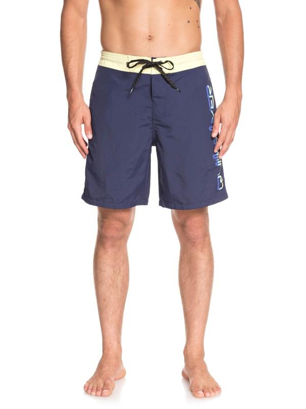 "0 Shorts de playa Omni 18"" Azul EQYBS04128 Quiksilver"