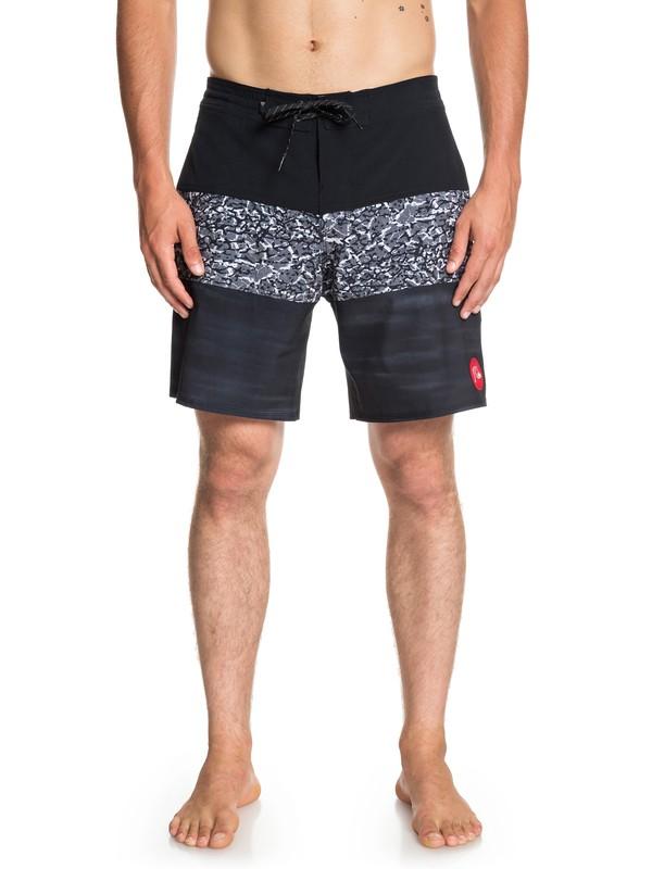 "0 Shorts de playa Acid Sun 18"" Negro EQYBS04129 Quiksilver"
