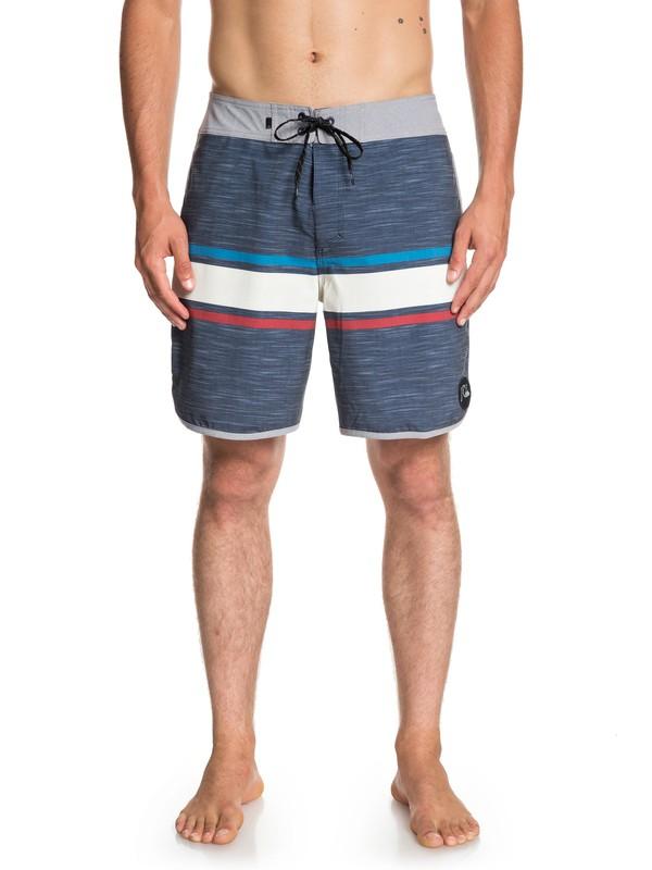 "0 Seasons 18"" - Beachshorts for Men Blue EQYBS04131 Quiksilver"