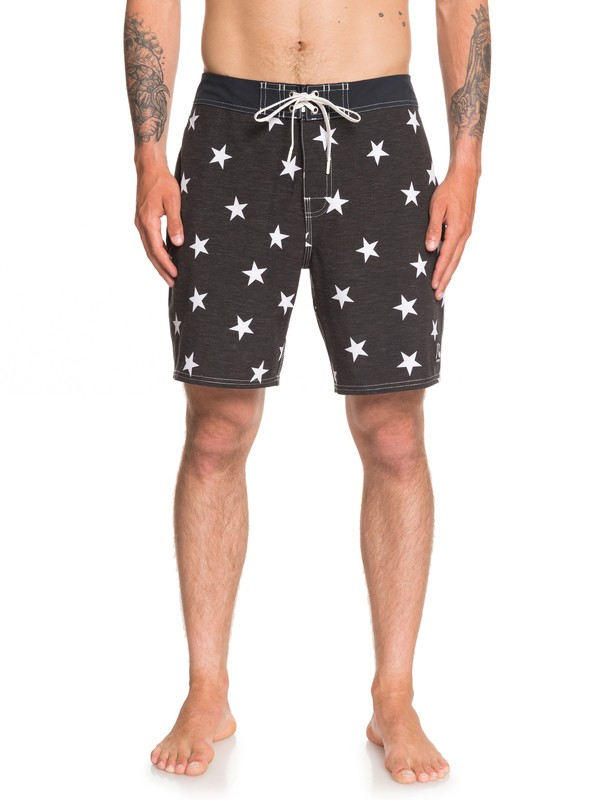"0 Echo Beach Star 18"" Boardshorts Black EQYBS04142 Quiksilver"