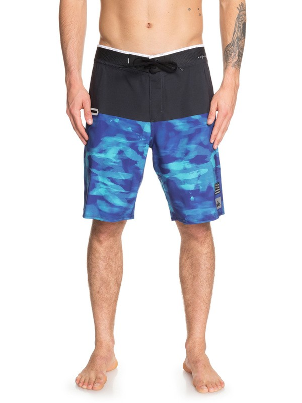 "0 Highline Blackout Hawaii 20"" Boardshorts Purple EQYBS04148 Quiksilver"