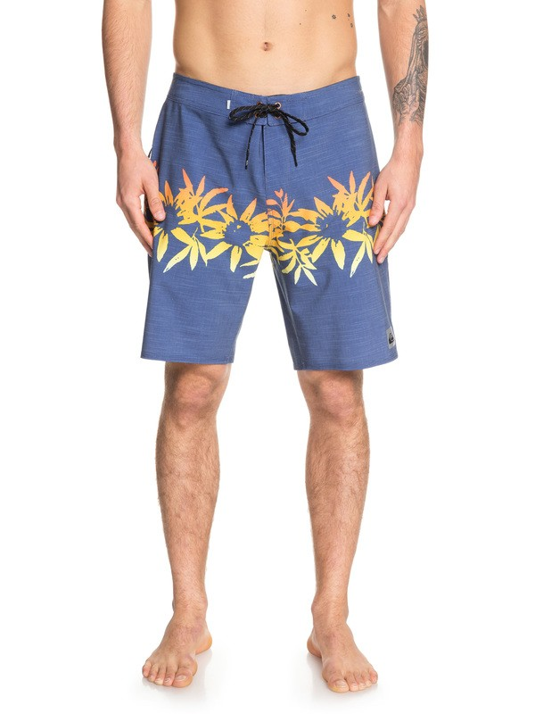 "0 Highline Choppa 19"" Boardshorts Blue EQYBS04150 Quiksilver"