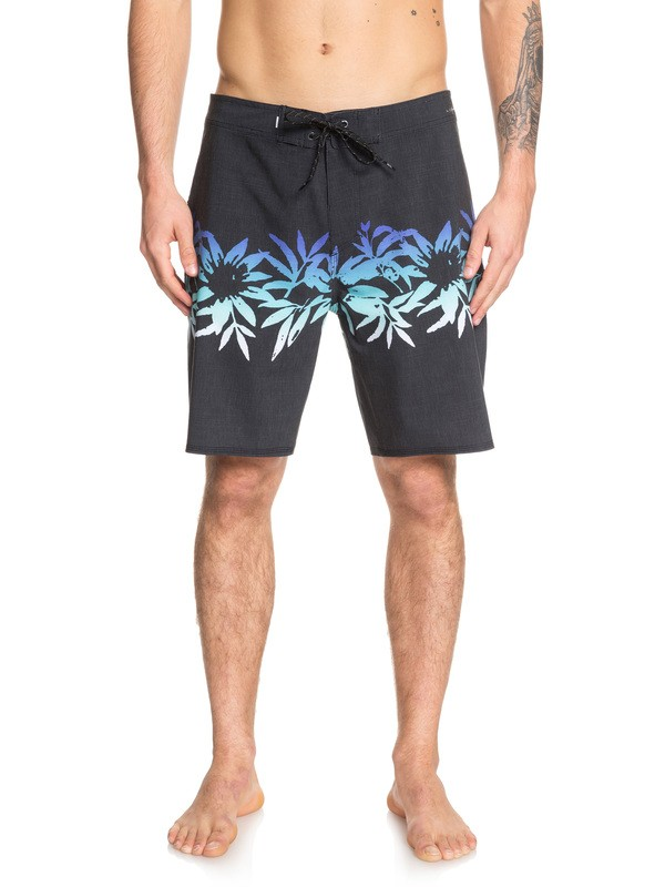 "0 Highline Choppa 19"" Boardshorts Black EQYBS04150 Quiksilver"
