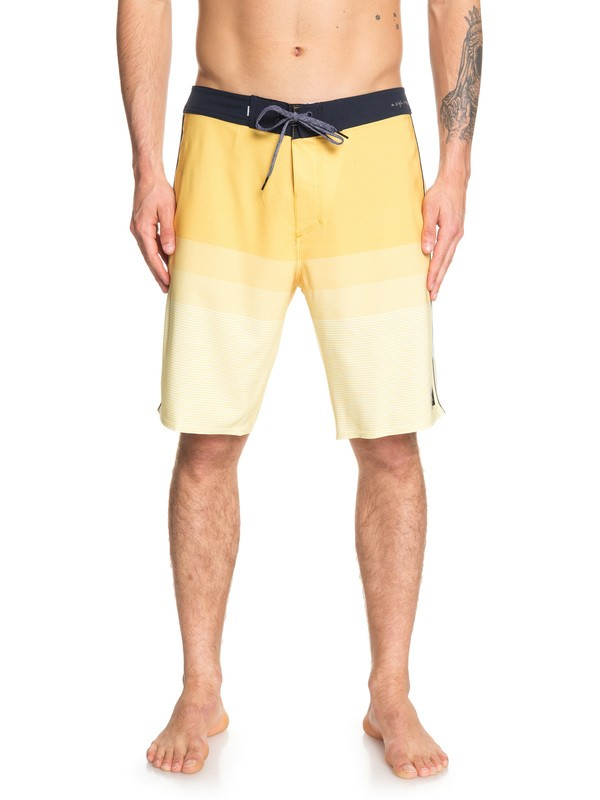 "0 Highline Massive 20"" Boardshorts Yellow EQYBS04153 Quiksilver"
