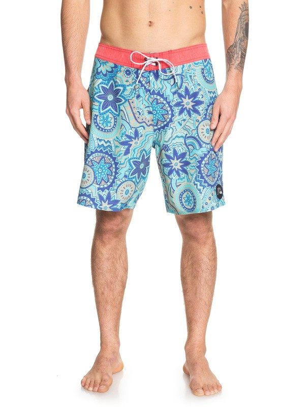"0 Highline Dreamer 19"" Boardshorts Blue EQYBS04154 Quiksilver"