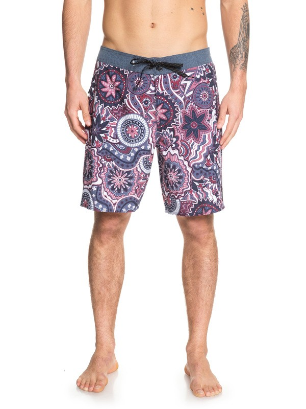"0 Highline Dreamer 19"" Boardshorts Red EQYBS04154 Quiksilver"