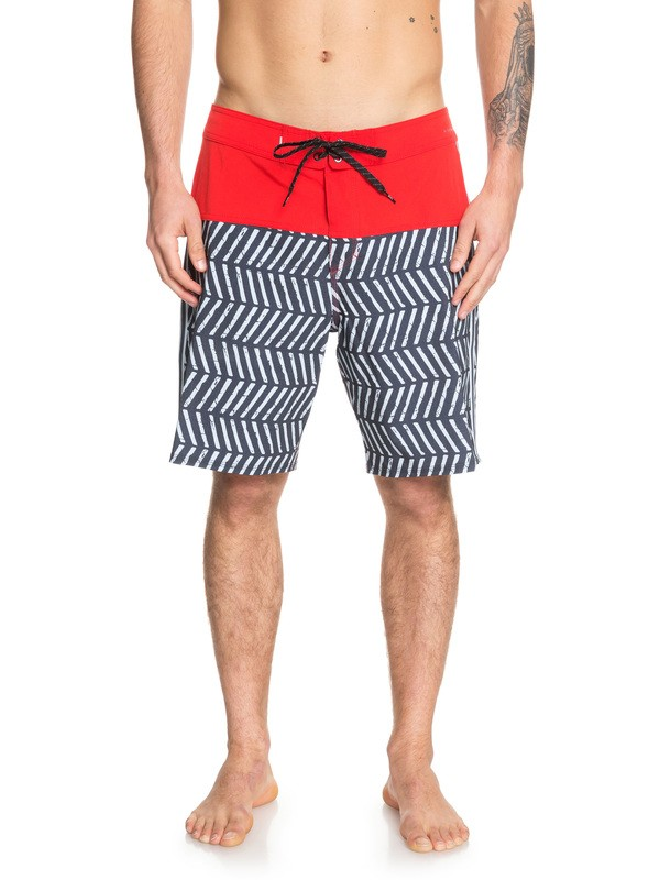 "0 Highline Snapper 19"" Boardshorts Red EQYBS04155 Quiksilver"