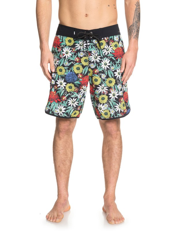 "0 Highline Bush Bandit 19"" Boardshorts Black EQYBS04156 Quiksilver"