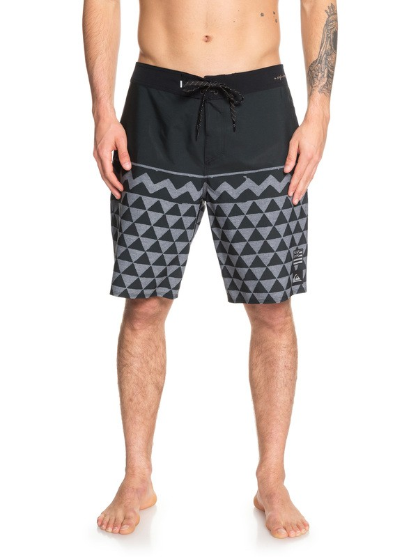 "0 Boardshorts -  Hawaii Variable Highline de  20"" Negro EQYBS04159 Quiksilver"